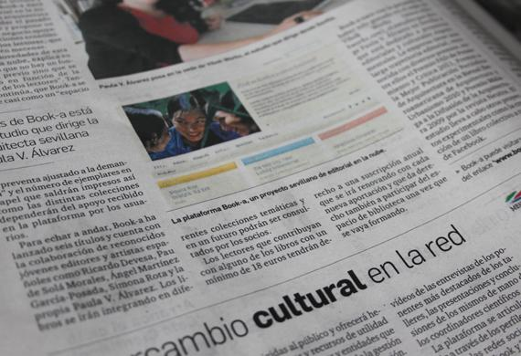 ¡La prensa local  se hace eco de Book-a!