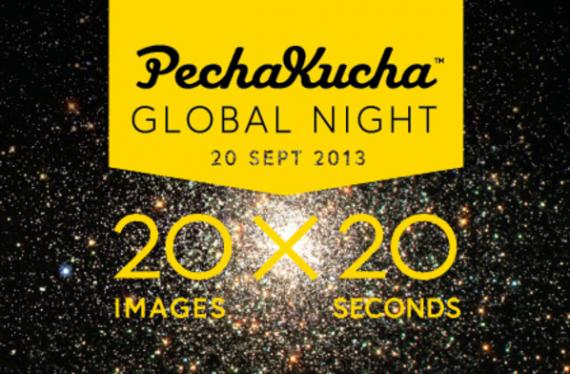 Book-a en PechaKucha  Global Night Sevilla.